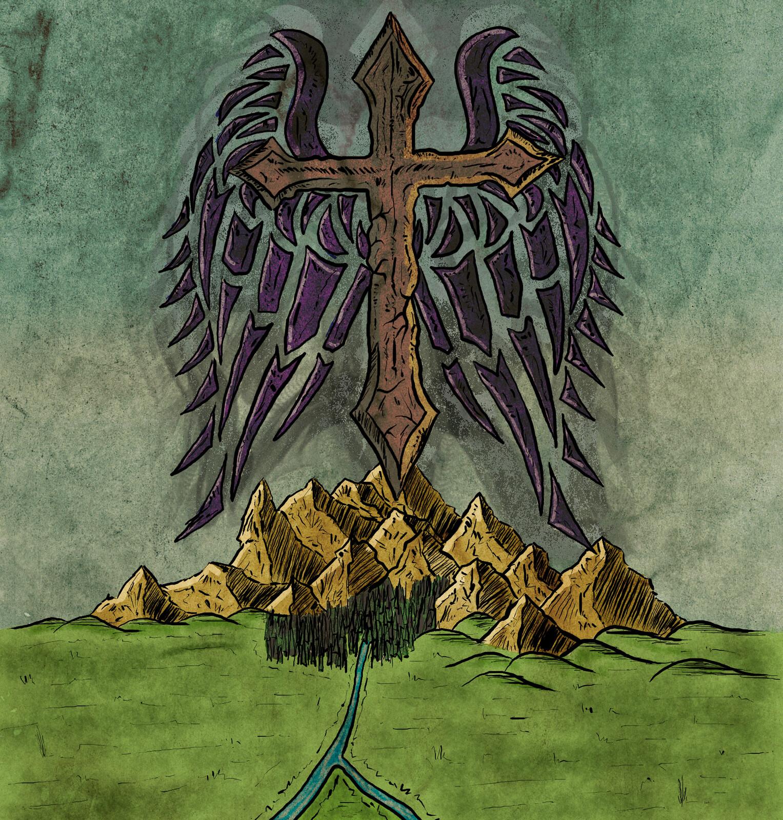Croix ardente