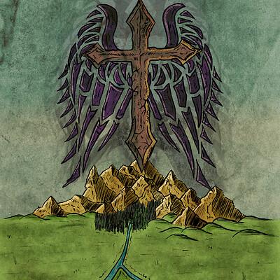 Ronan salieri croix ardente