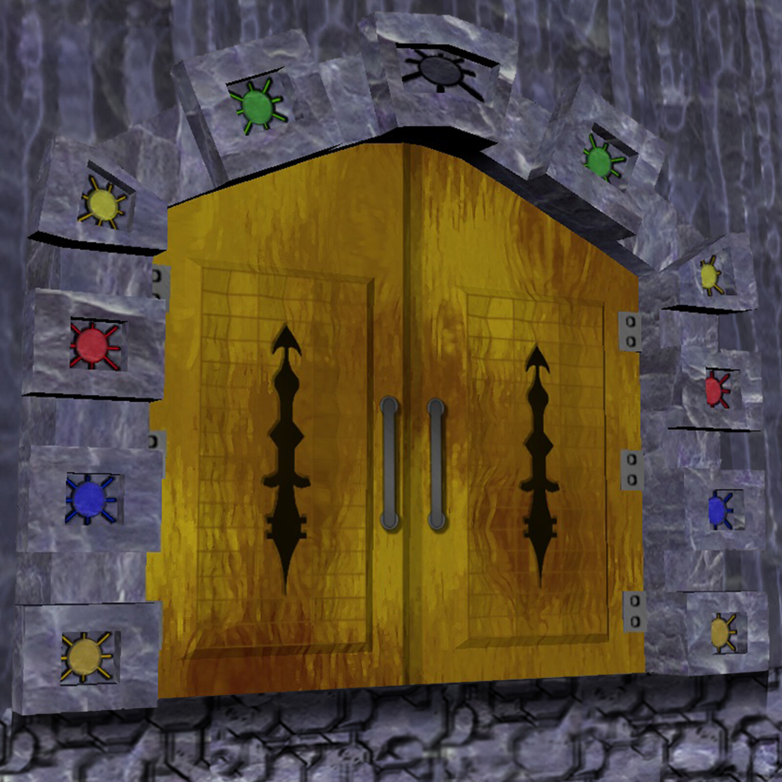 The RuMaeum Doorway within the RuMa Temple on the planet Par'N