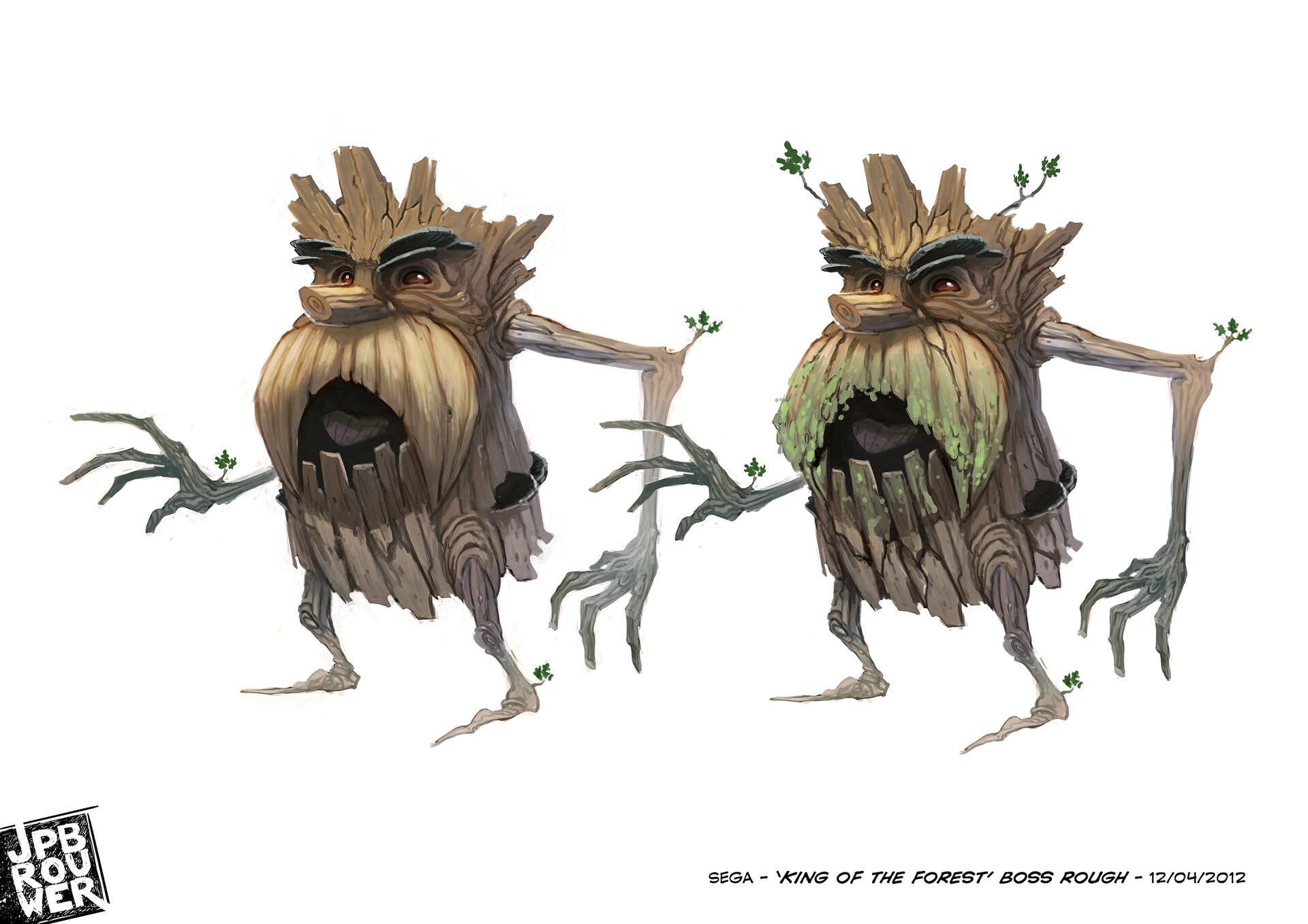 James brouwer sega kingoftheforest 120412b