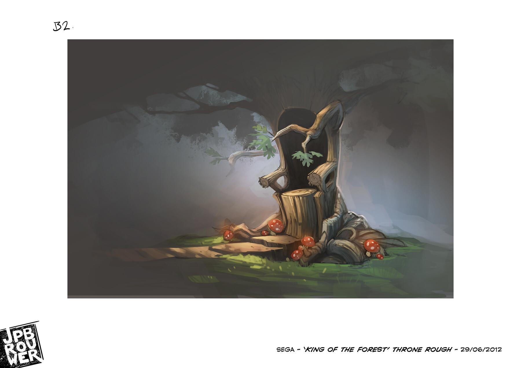 James brouwer sega kingoftheforest throne290612