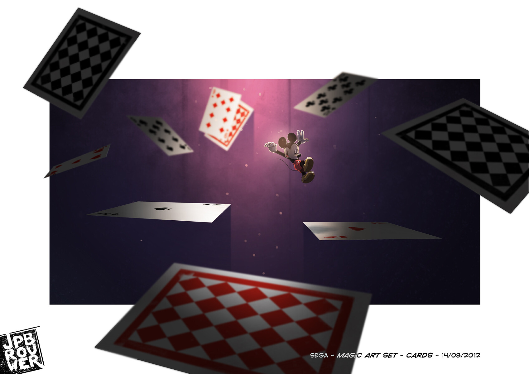 James brouwer sega magicartset cards140812