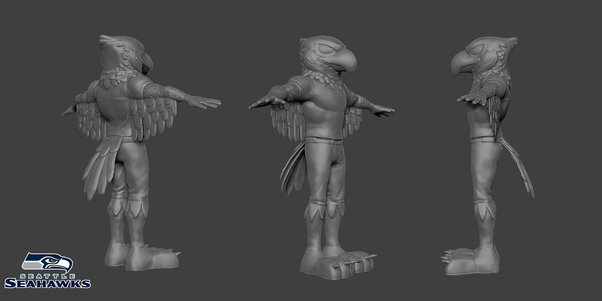 High Poly Sculpt (Zbrush)