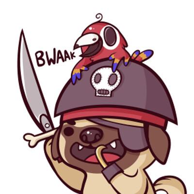Pug Pirate!