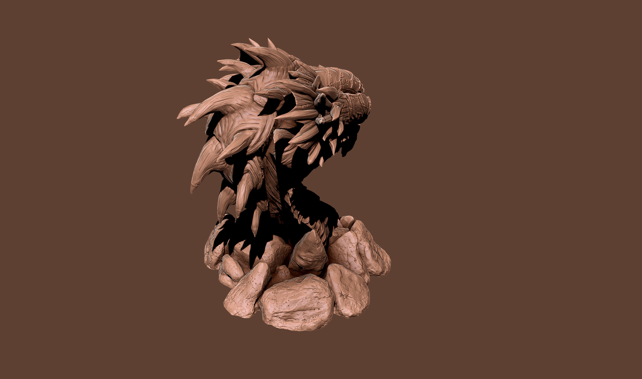 Zbrush Clay Render