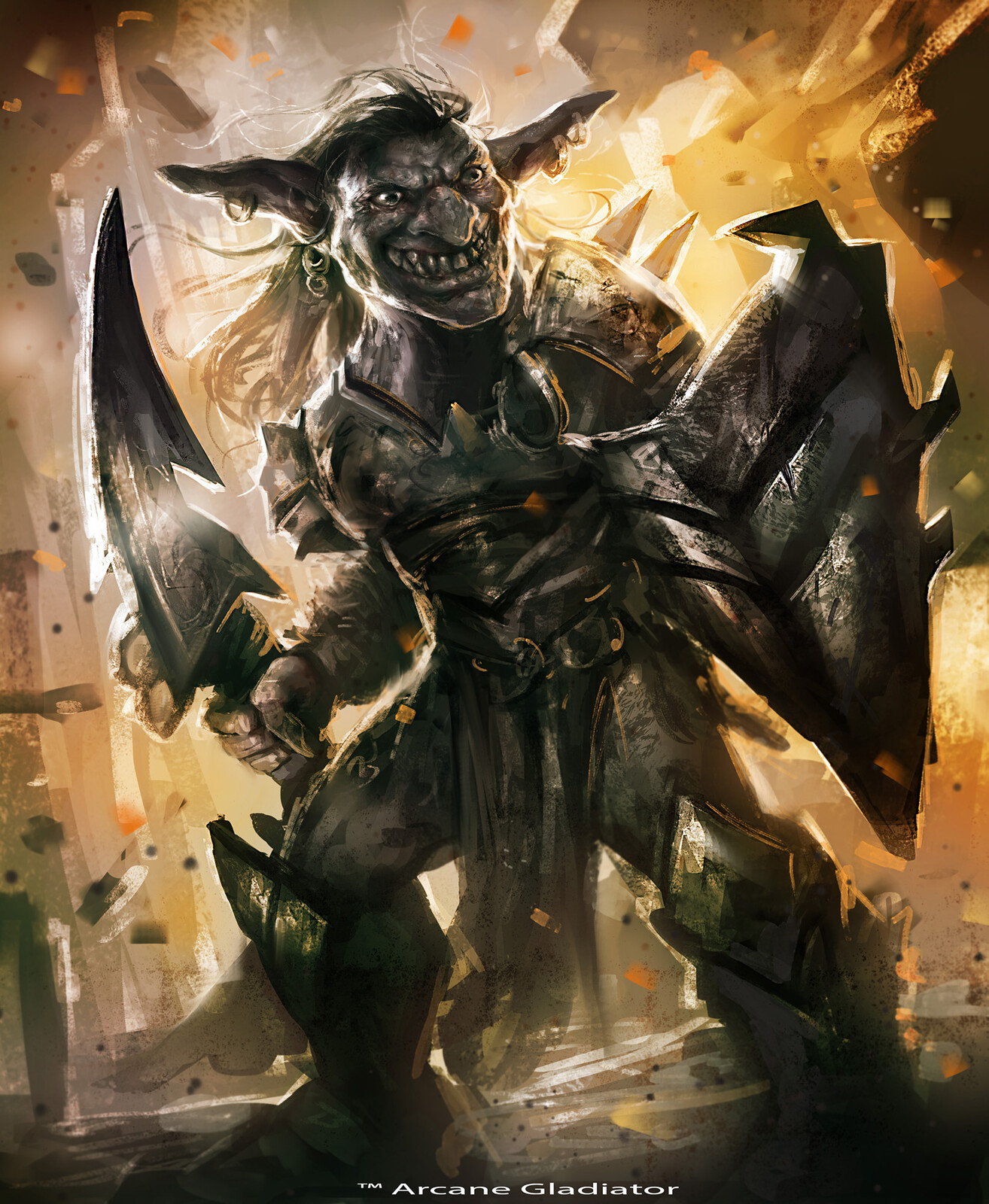 Goblin Warrior- Arcane Gladiator TCG