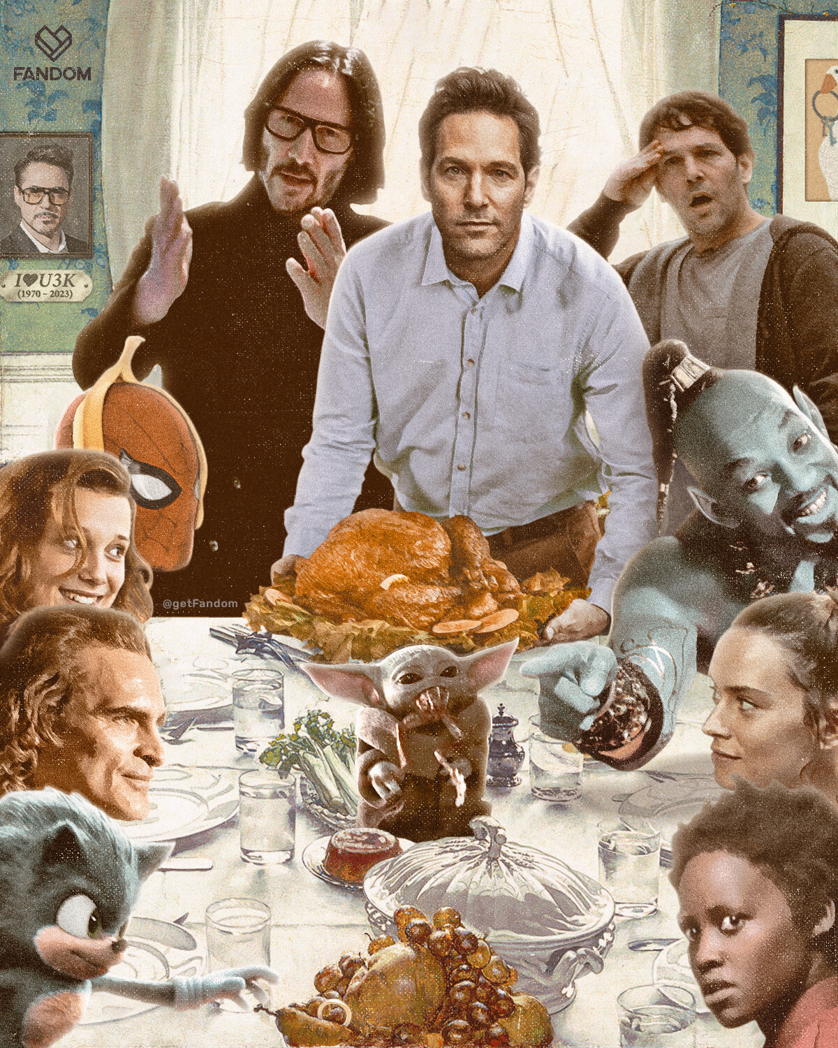 Happy Thanksgiving from our Fandom to yours!!