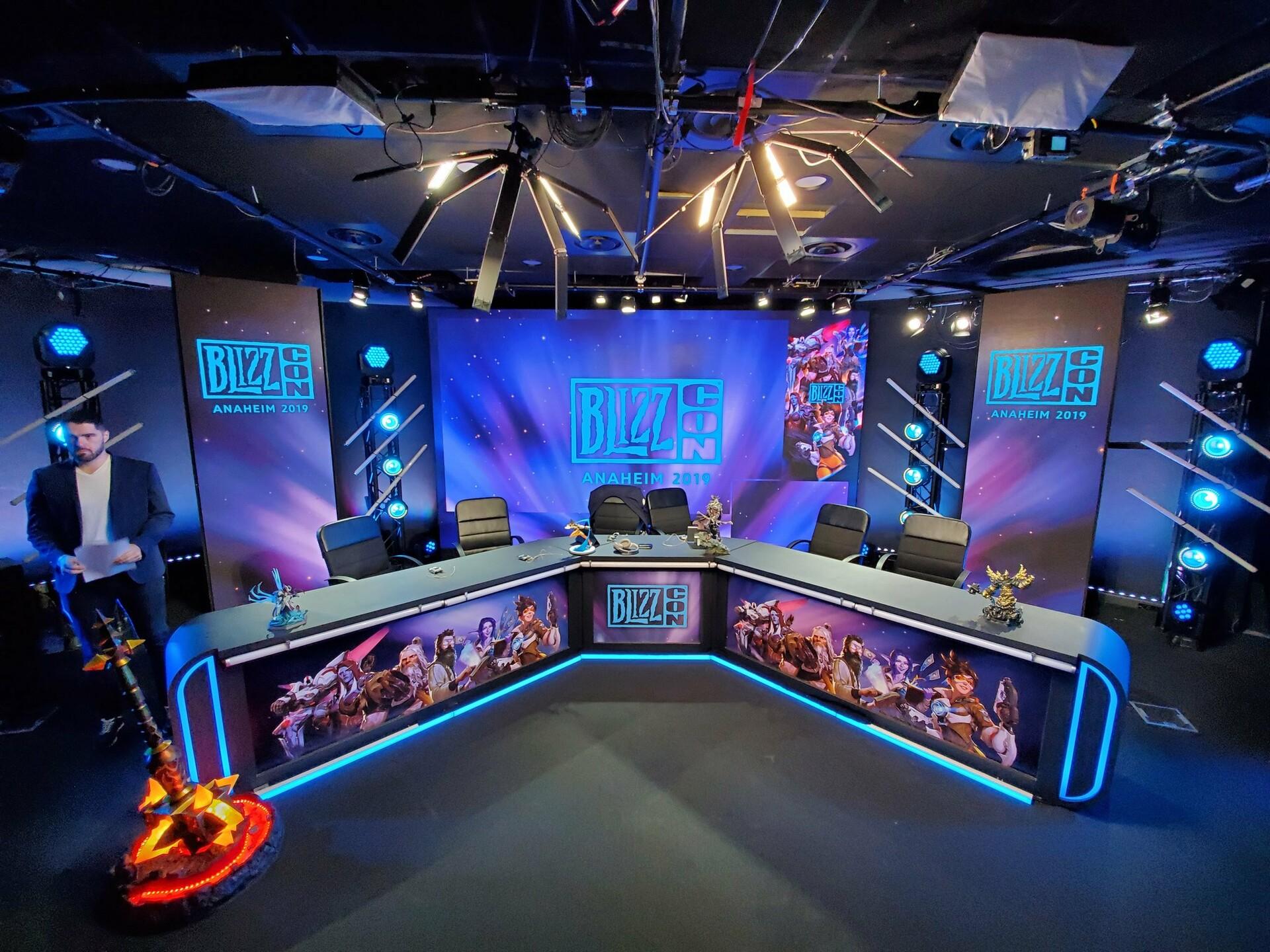 LeStream x BlizzCon - Studio (Photo credit : @lestream)