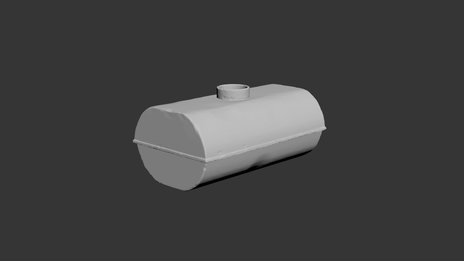 Water tank prop. Modeled in 3ds and damaged in zbrush.