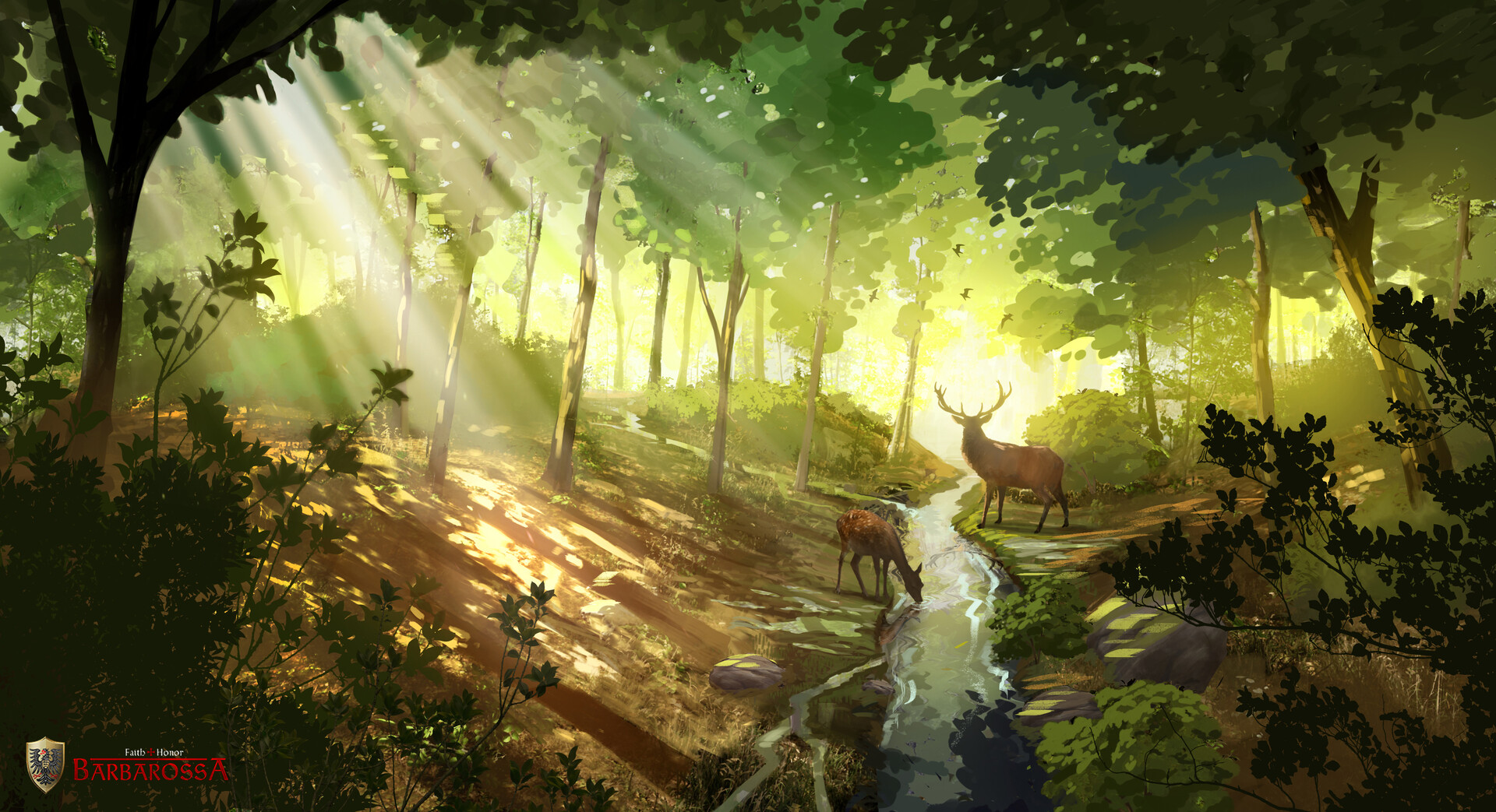 Lea dickert lex forest hunt overpaint