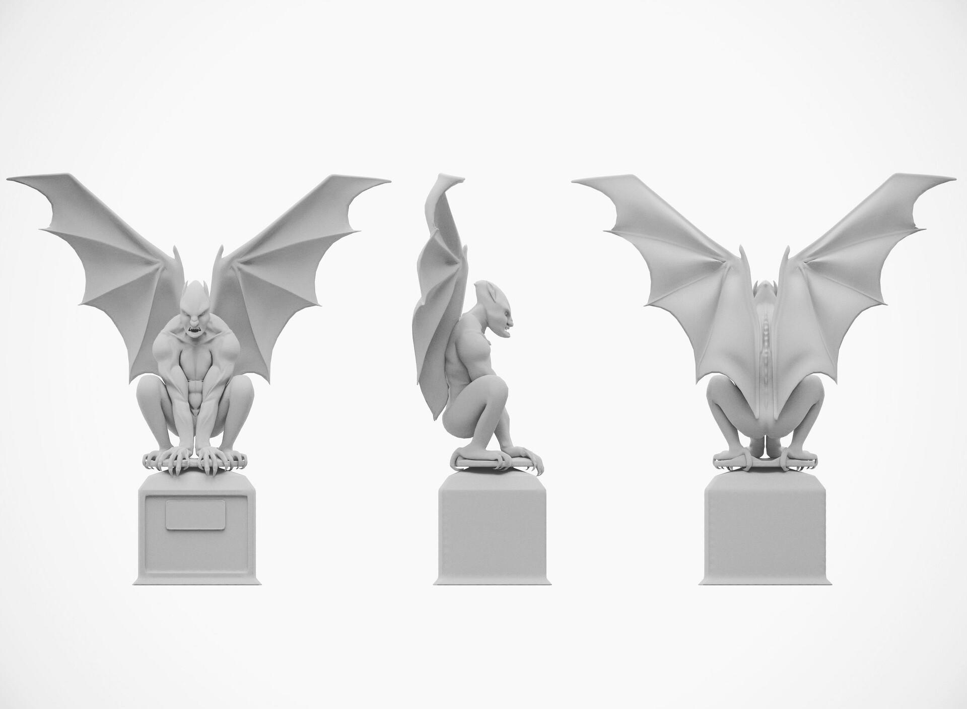 Great, Grandiose and Glorious Origami Gargoyles | 1408x1920