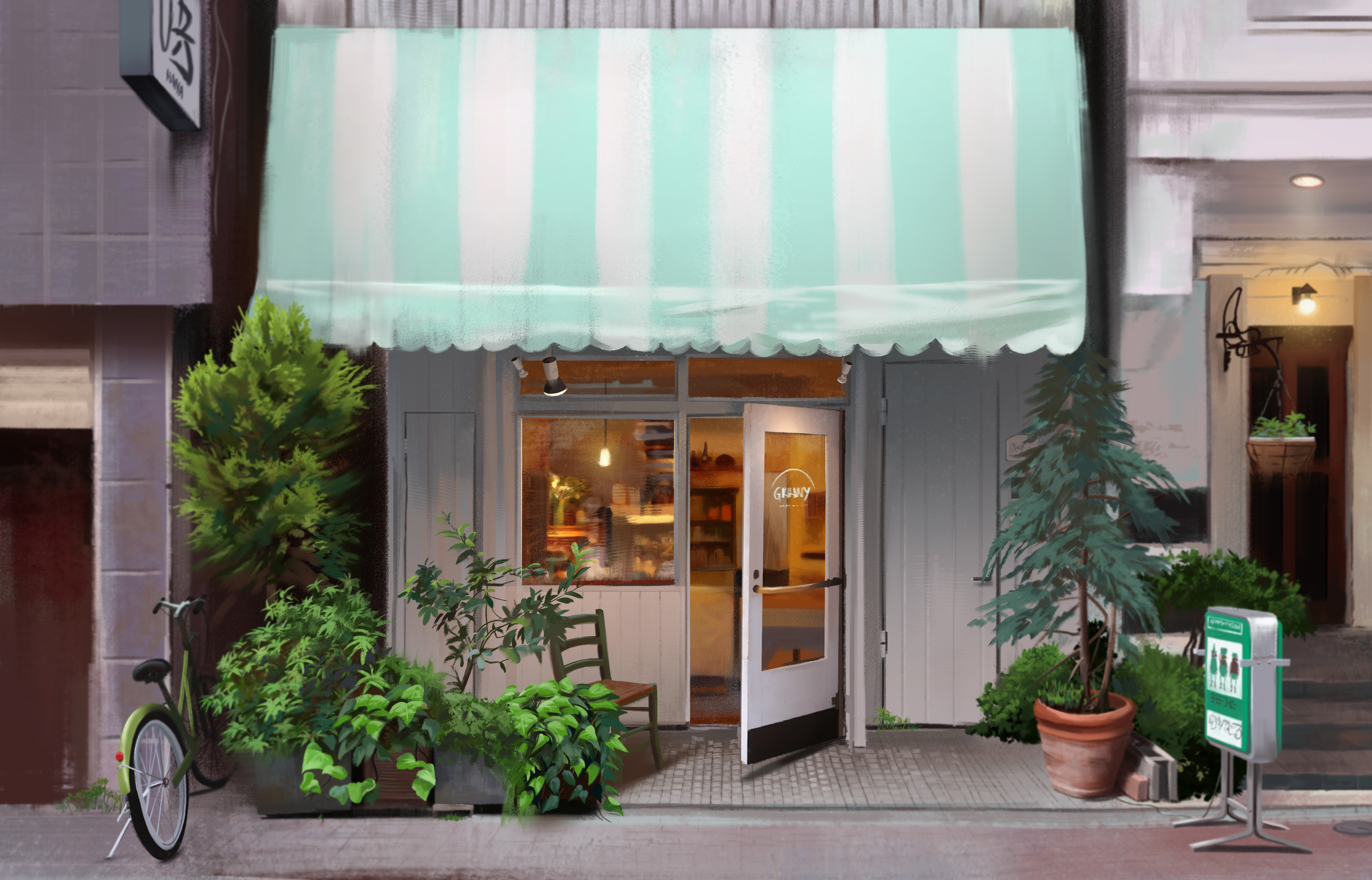 Small bakery in Tokyo, Japan