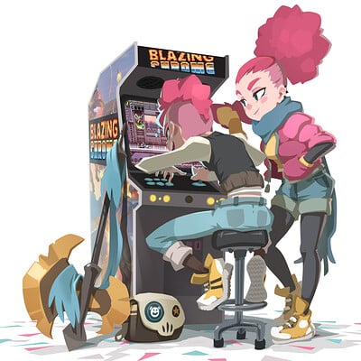 Xa on the moon arcade v02