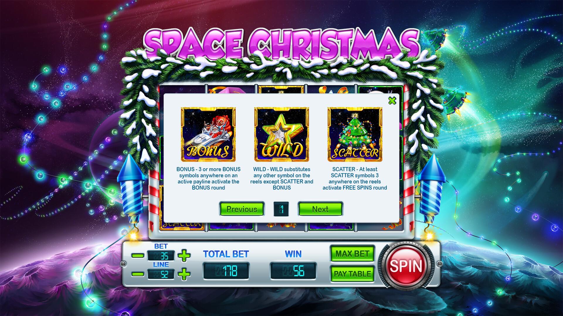 ArtStation - Space Christmas, sales slotmachines