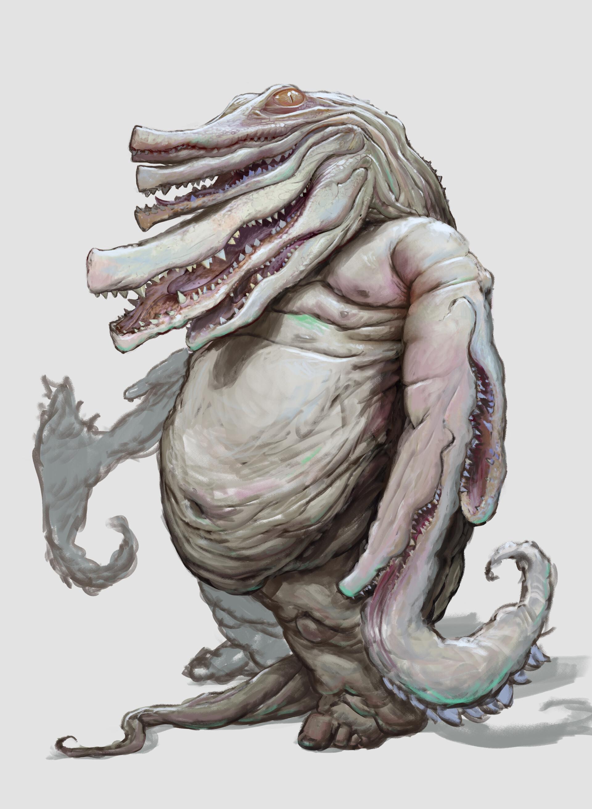 Gediminas skyrius aligator mutant 1