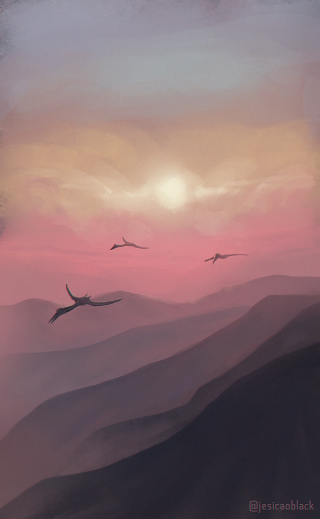 Jesica o black sunrise