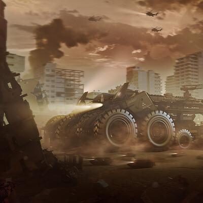 Encho enchev behemoth tank 1