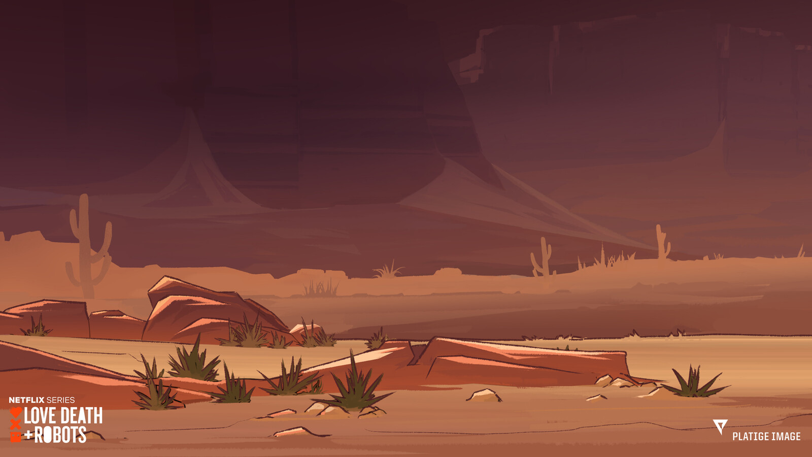 Background painting