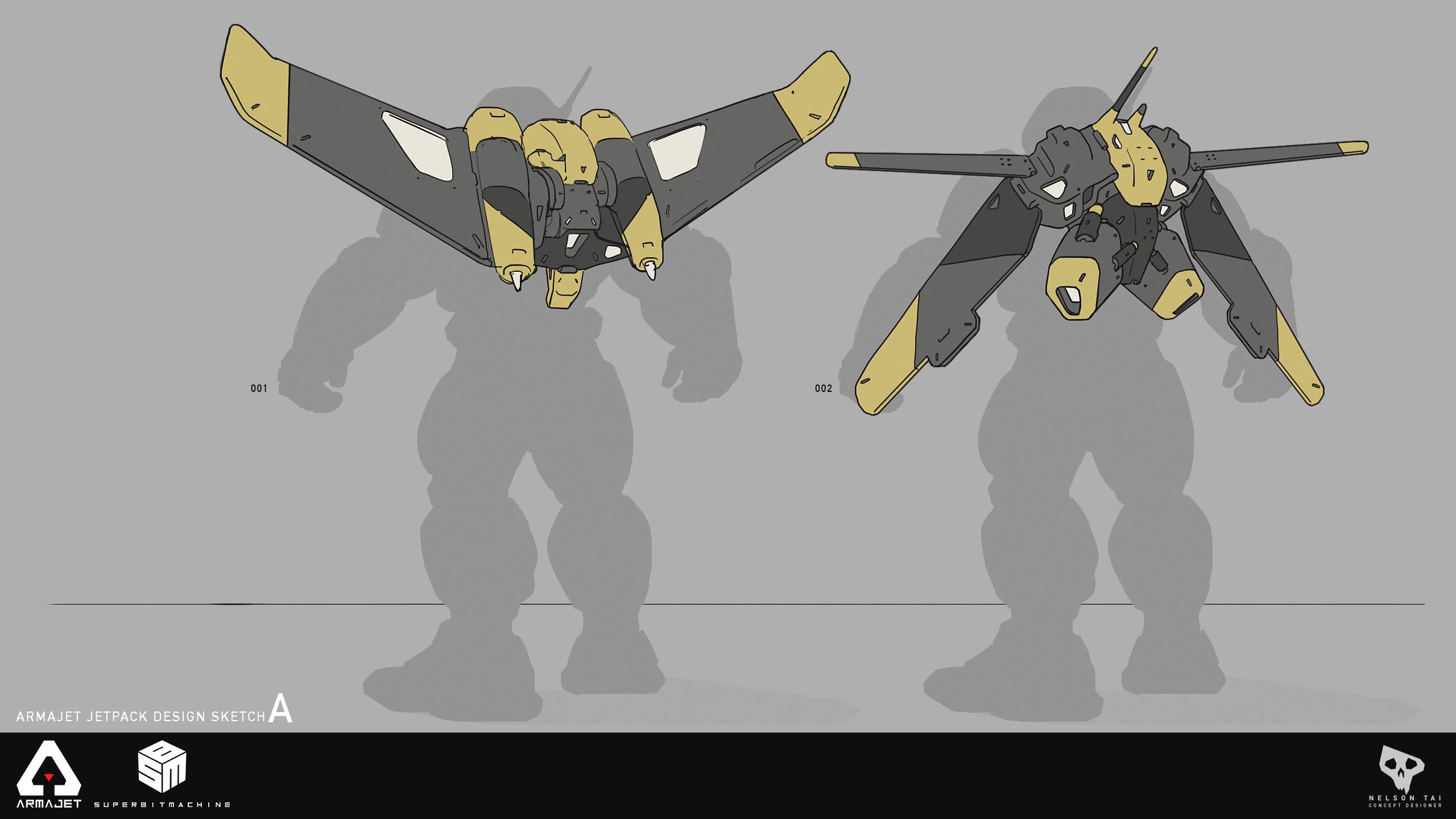 Armajet Jetpack Design A