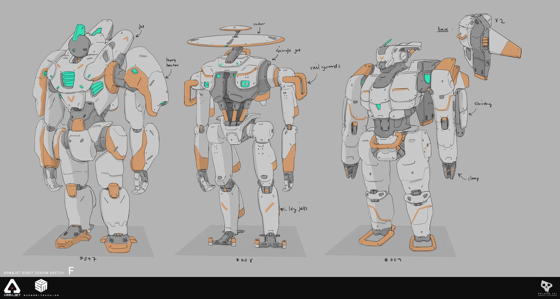 Robo need mohawks too!