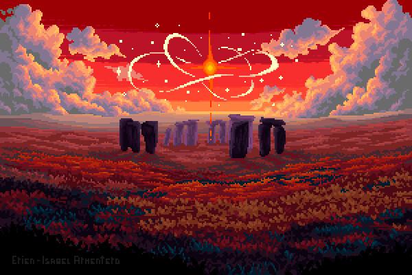 Pixel illustration #22