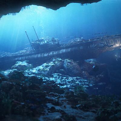 Michal pancerz underwater submarine v28