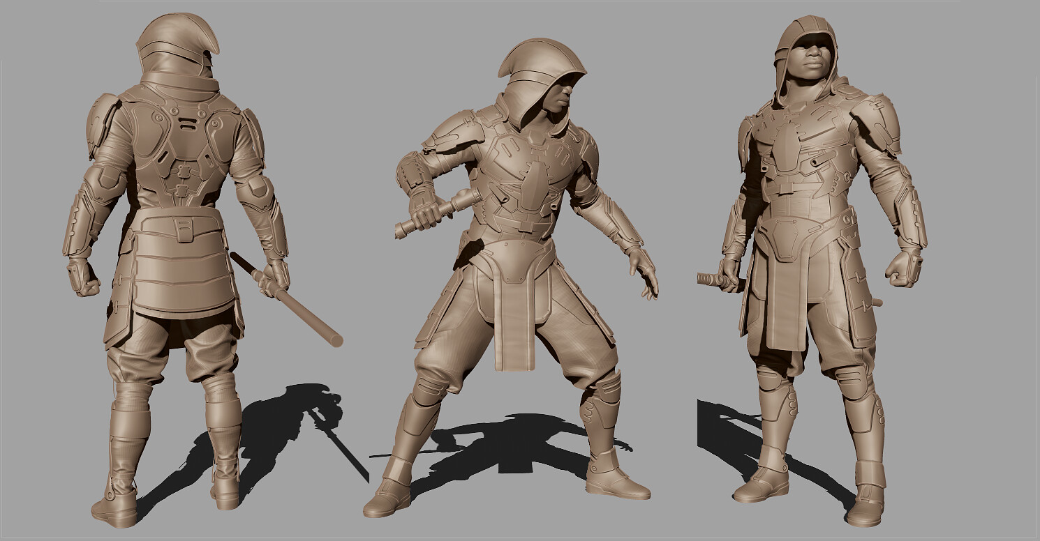 Kevin beckers zbrush