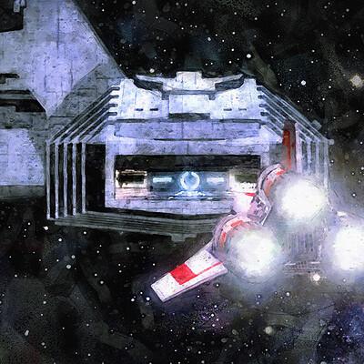 Luca oleastri galactica landing bay firma