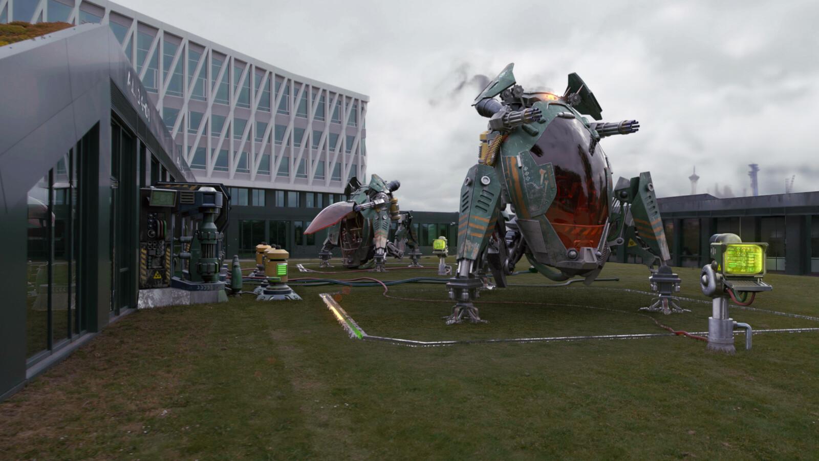 Scifi Space Ship