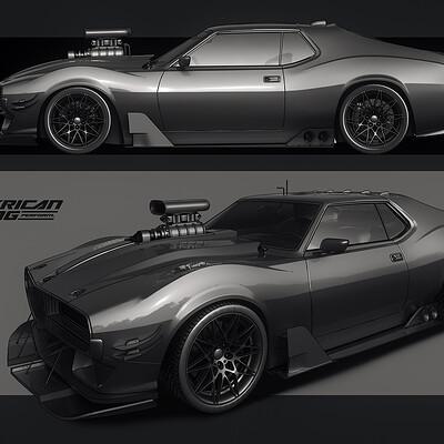 Encho enchev muscle car concept1