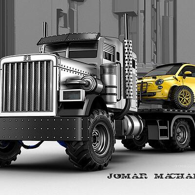 Jomar machado 230 double trouble transport
