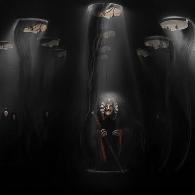 Anya allin kabuki masks 01