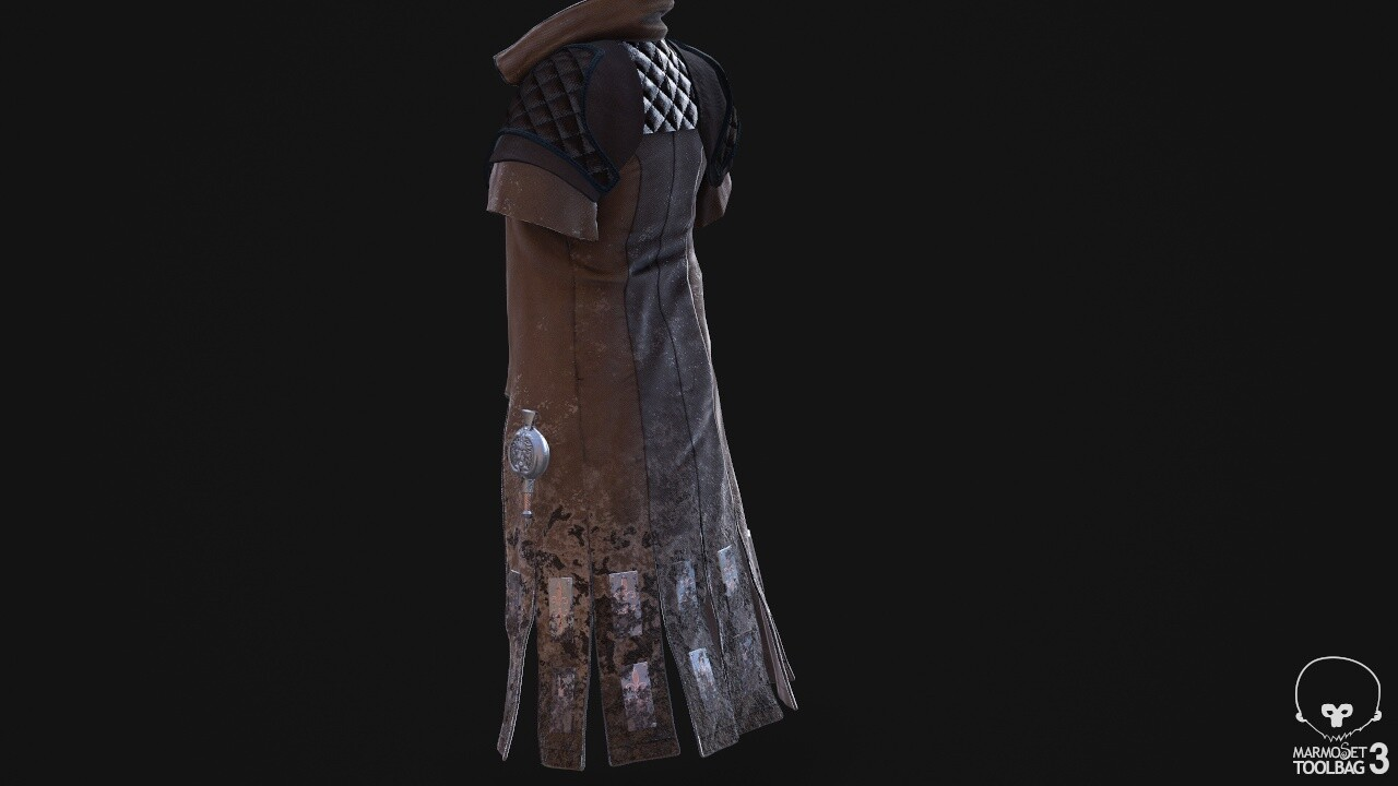Texture of different clothes. The 3D model was made and provided by Nicolas Ninõ