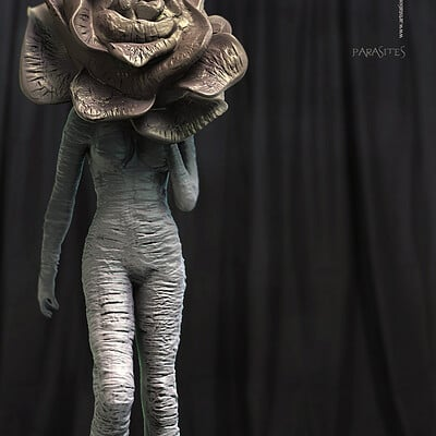 Surajit sen parasites concept digital sculpture surajitsen dec2019