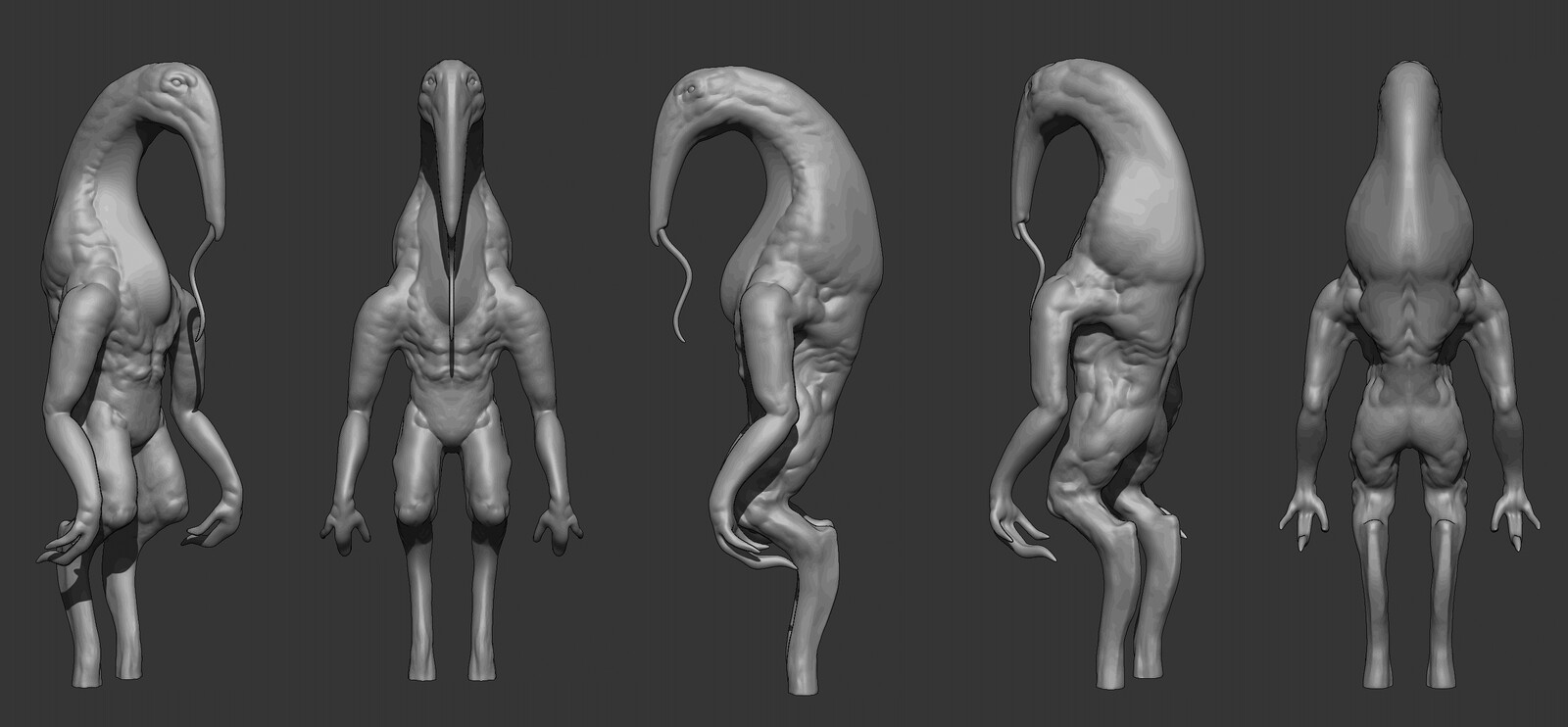 Antbear [Alien Creature Design Sculpt]