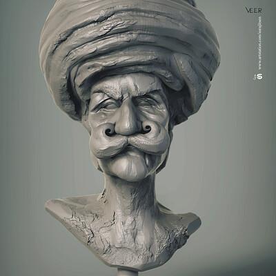 Surajit sen veer digital sculpture surajitsen dec2019