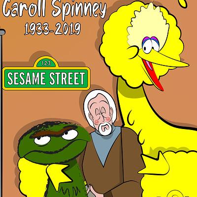 Larry springfield caroll spinney