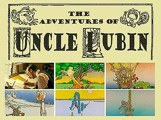 "Title design for ""THE ADVENTURES OF UNCLE LUBIN"" movie proposal"