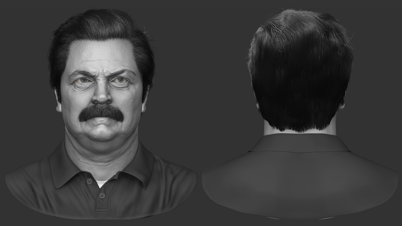 Ron Swanson - Nick Offerman