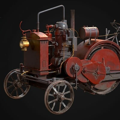 Renderdock team traktor 1