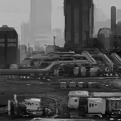 James ledger cloudy city