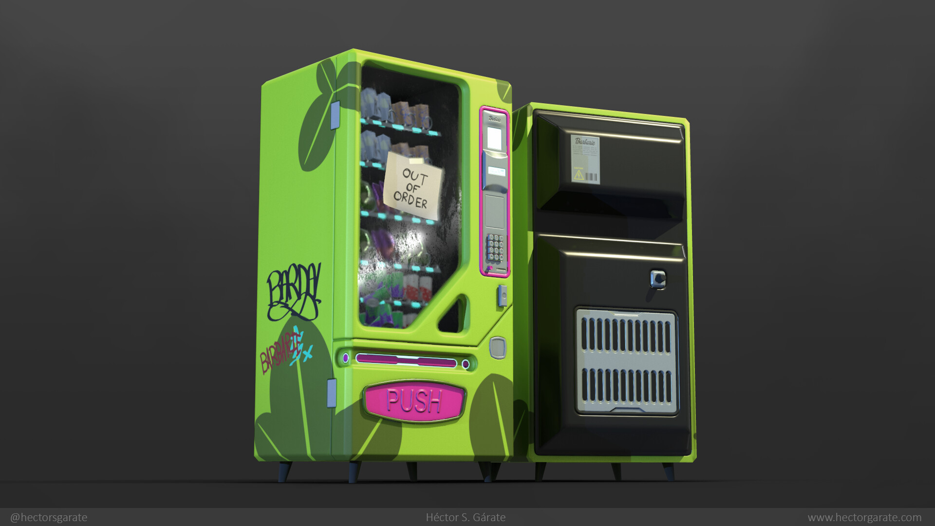 Hector garate vending 01