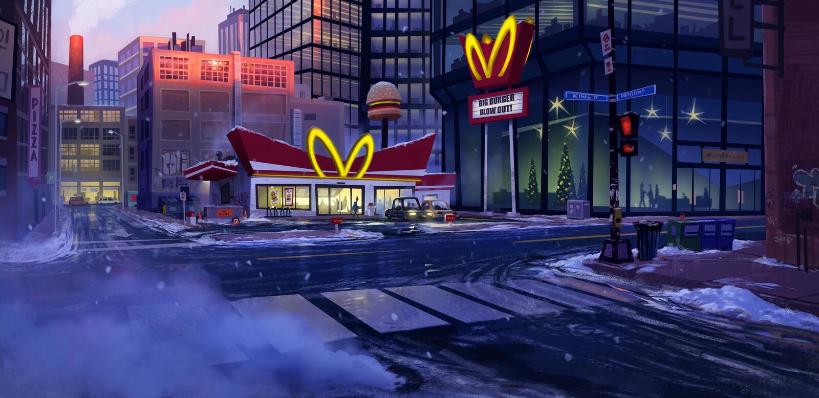 Burger Blow Out