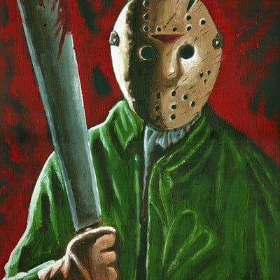 Josh simon jason voorhees by jsimonart