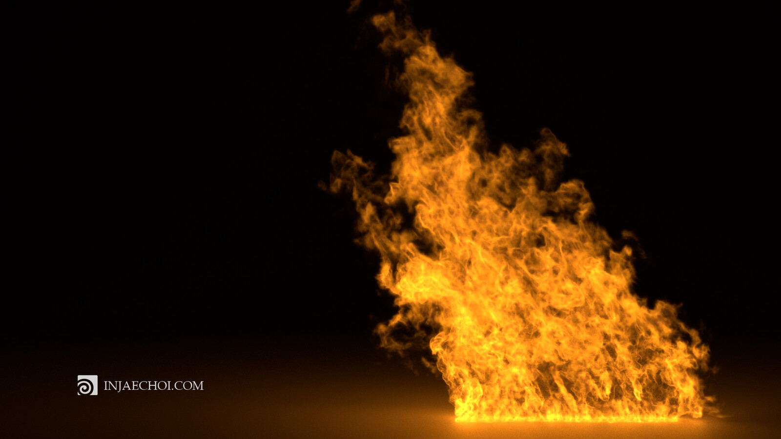 Realistic Fire in Houdini, Mantra Render