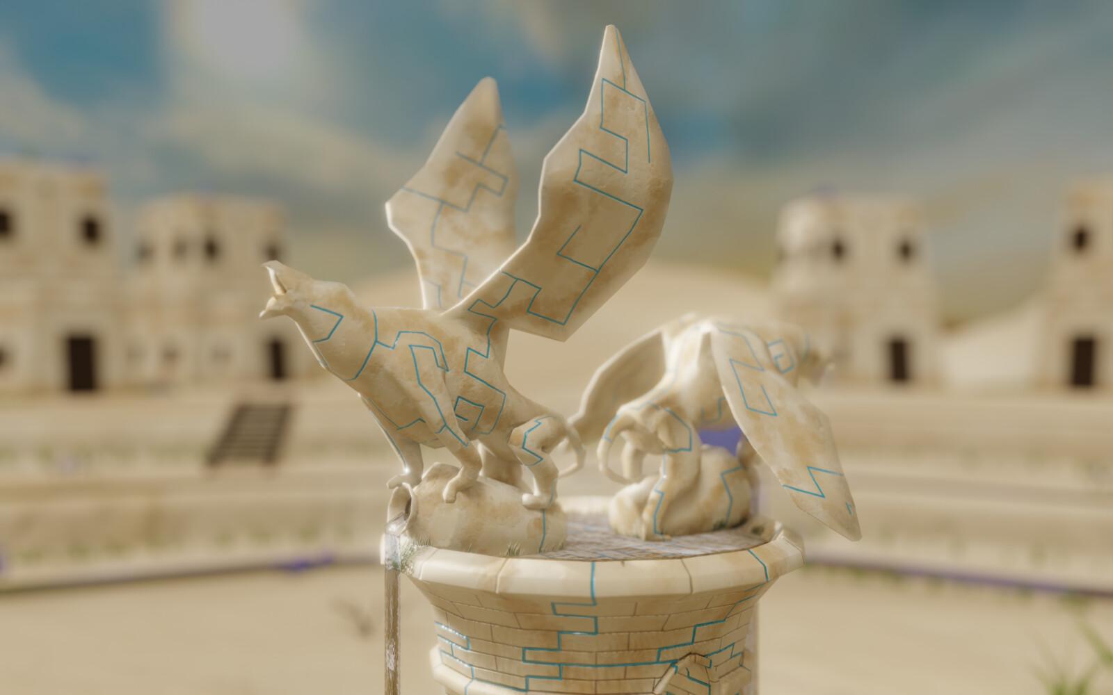 Griffon Fountain