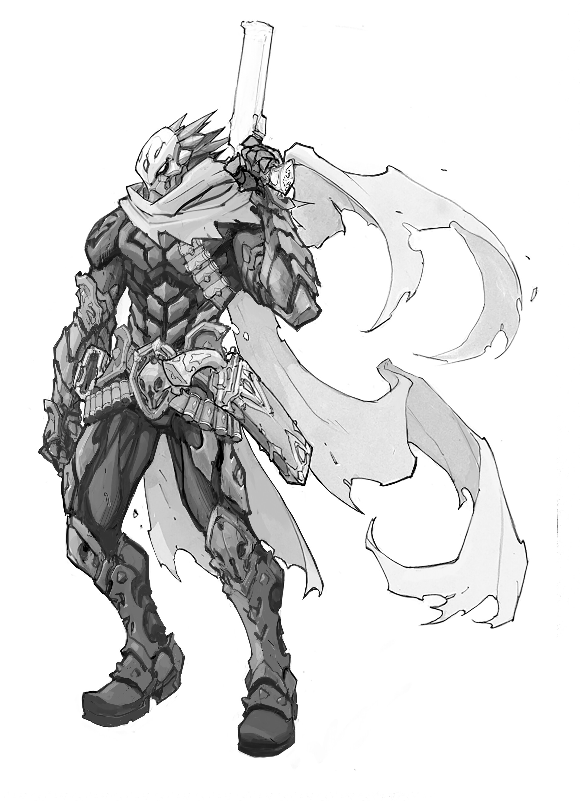 Artstation Darksiders Genesis Joe Madureira