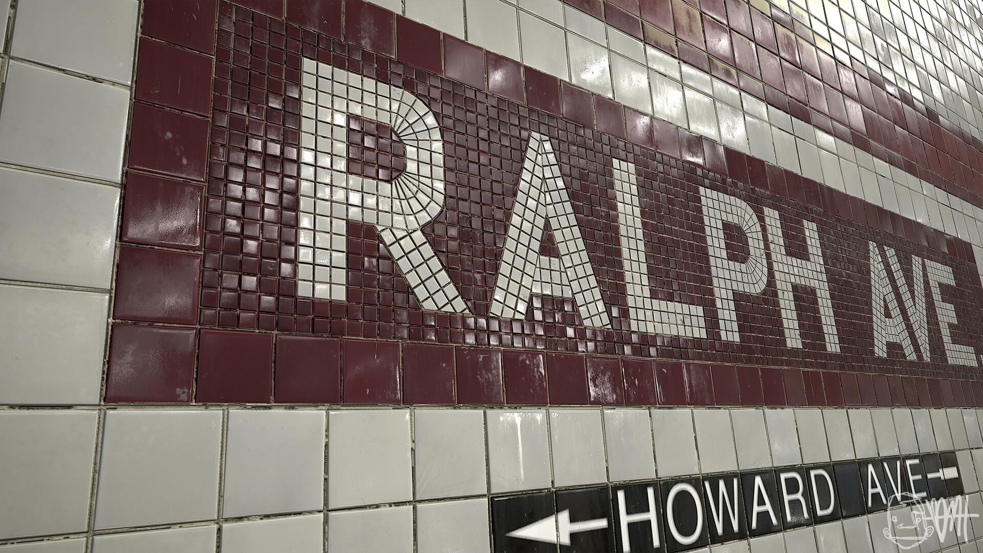 Brett marshall tucker subway tile marmoset detail