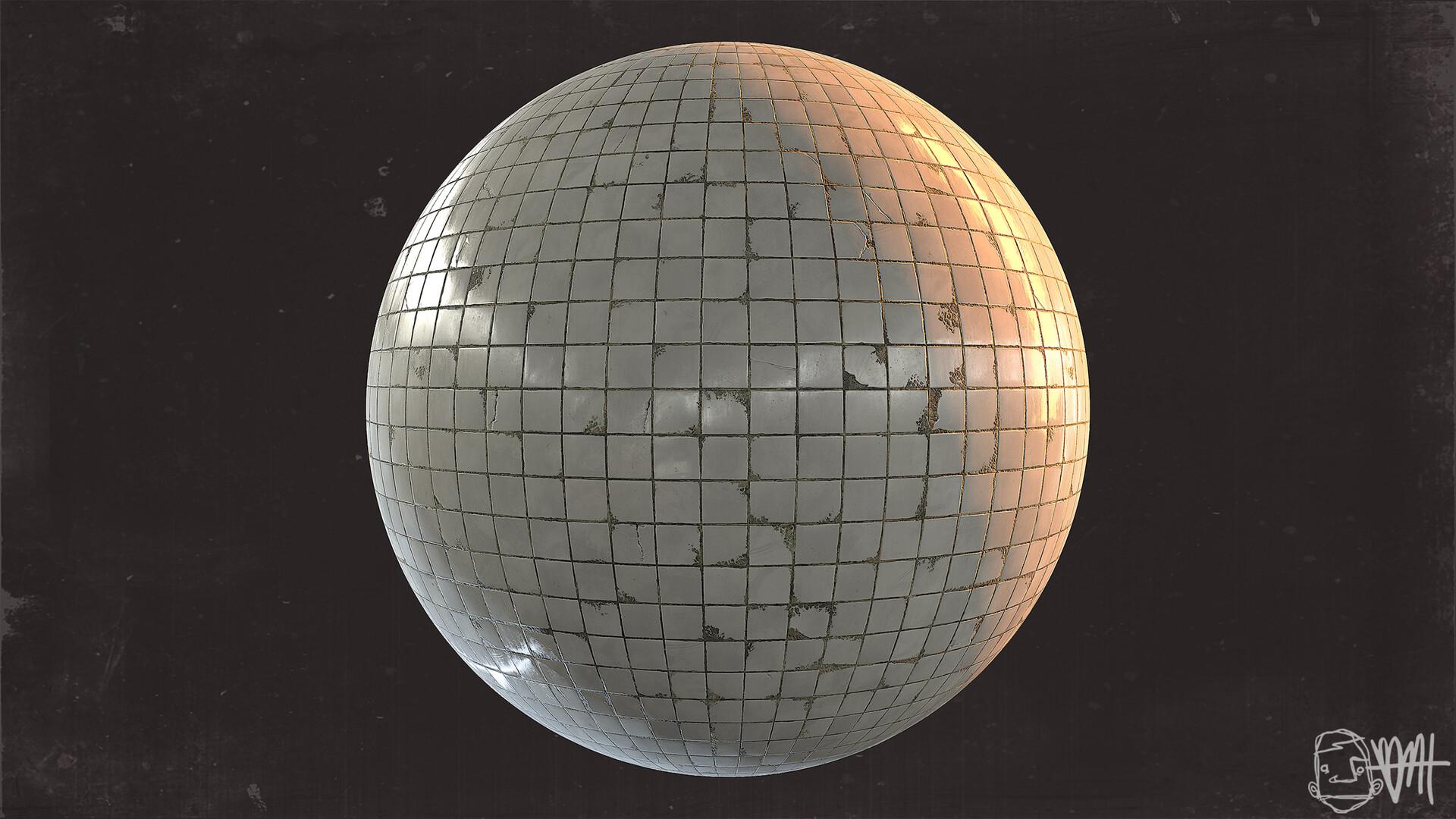 Brett marshall tucker subway tile sphere render 4