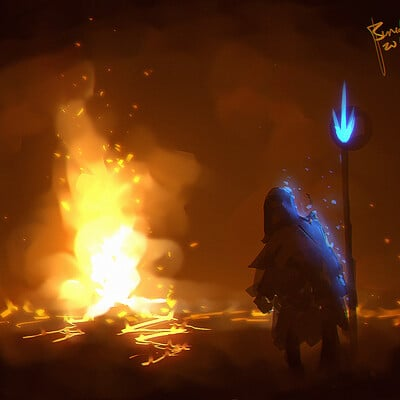 Benedick bana flame ritual lores